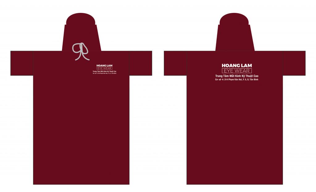 Thiết kế áo mưa quảng cáo
