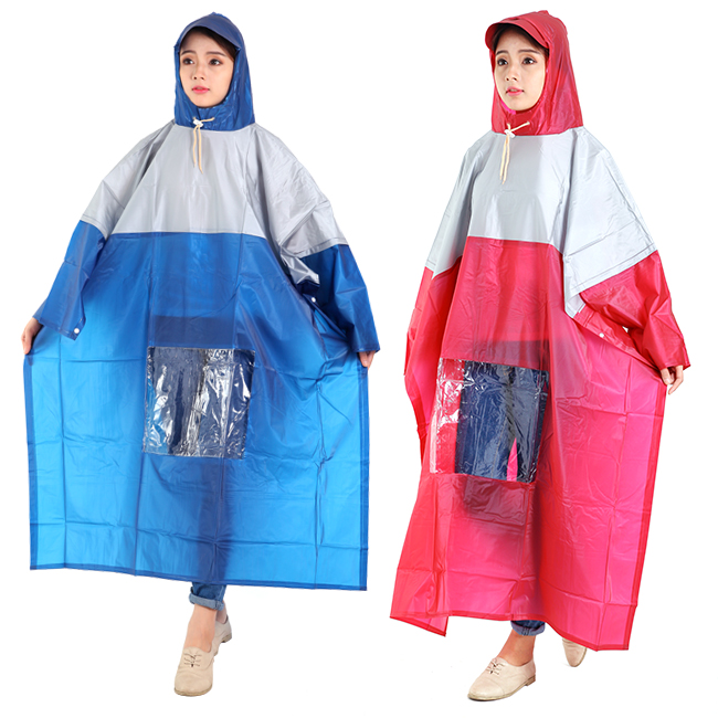 Áo mưa cánh dơi vải nhựa